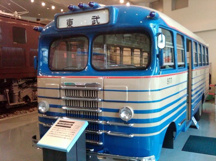1960s Bus - Fuji Heavy Industries Ltd. (Nissan engine)