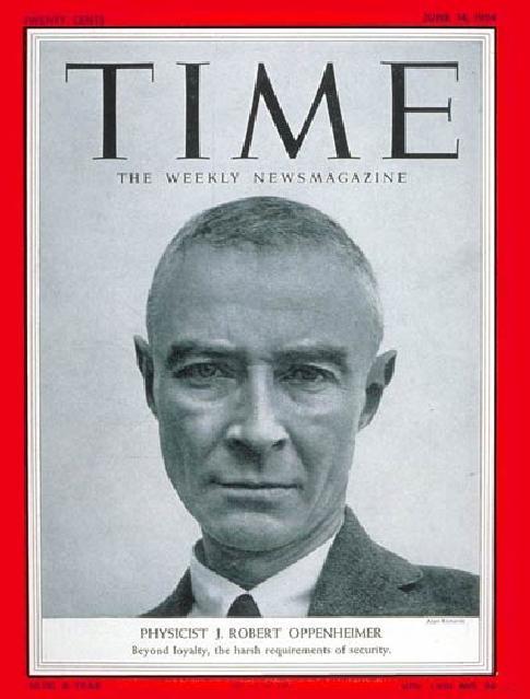robert oppenheimer time magazine cover