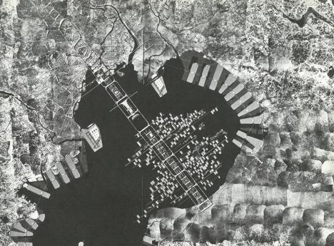 丹下 健三 Tange Kenzo, A Plan for Tokyo 19601961. Photo: Kawasumi Akio