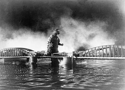 Godzilla Kachidoki Bridge
