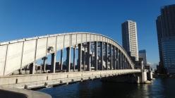 Kachidoki Bridge sunshine