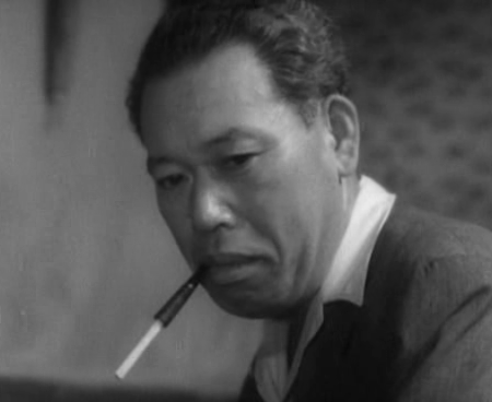 Japanese actor Takashi Shimura known for stoic trustworthy characters