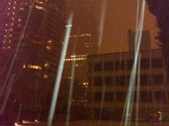 Tokyo snow NHK night 1