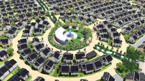 Fujisawa Sustainable Smart Town solar panel houses new development