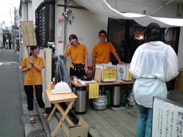 A 3/11 fundraiser at Koenji Beer Workshop Source: http://koenjibeer.up.seesaa.net
