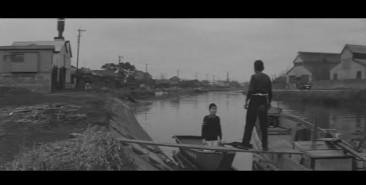 Cupola City - boys muddy river bank boat