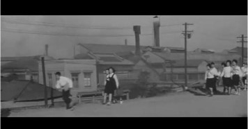 Cupola City - school children factory walk Kanagawa