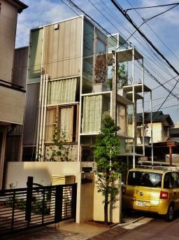 Sou Fujimoto's glass House NA, Tokyo.