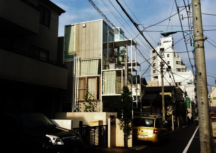 House NA Glass house Tokyo east