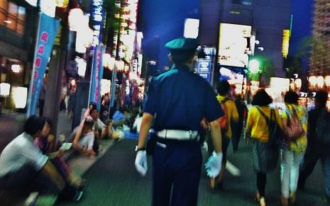 Hot night in Shimbashi 1 cop