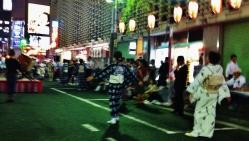 Hot night in Shimbashi 1 dancers
