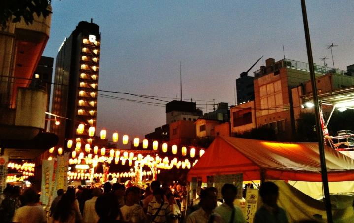 Hot night in Shimbashi 1 festival