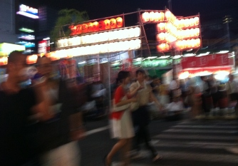 Hot night in Shimbashi 1 girls 2