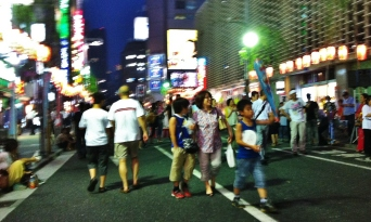 Hot night in Shimbashi 1 kids