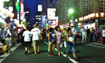 Hot night in Shimbashi 1 kids