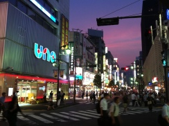 Hot night in Shimbashi 1 pachinko