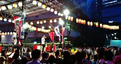 Hot night in Shimbashi 1