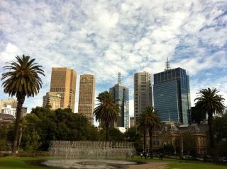 1 Treasury Gardens Melbourne Fitzroy Gardens