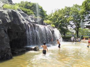 2 - Tenno Park water