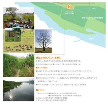 Tamagawa Kinutama Play Village playground area_