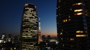 18. Tokyo Tower clear dusk