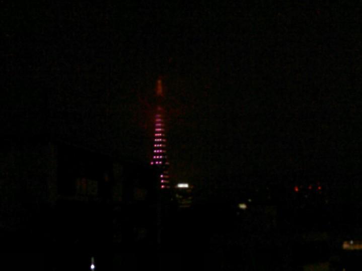 23. Tokyo Tower in fog Roppongi Hills