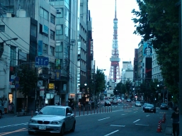25. Tokyo Tower Roppongi first day in Tokyo