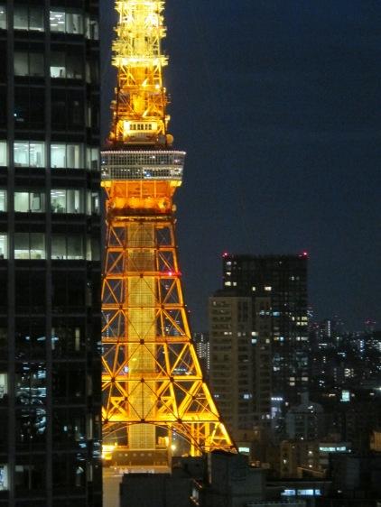 29. Tokyo Tower orange at dusk