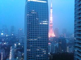 33. Tokyo Tower misty evening