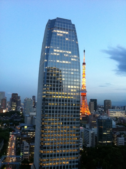 34. Tokyo Tower clear early evening