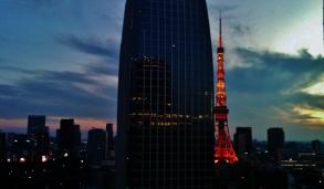 35. Tokyo Tower gathering gloom