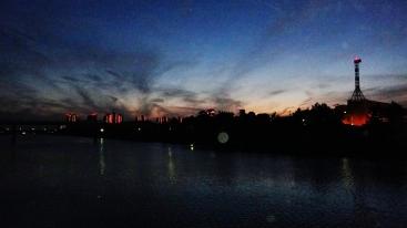5. Hanami River at Dusk
