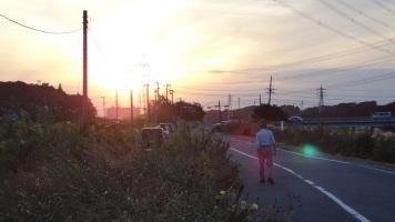 5. Sunset Chiba Hanami River