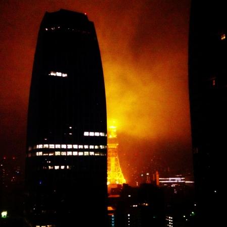 Tokyo Tower mist 東京