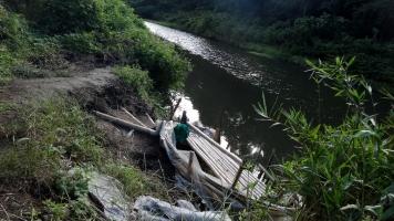 Hanami River Chiba 7 bamboo dock