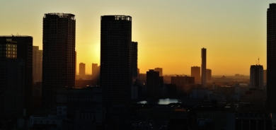 12. Tokyo sunrise