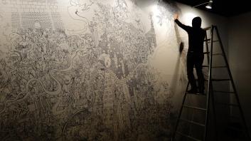 14. Tokyo Design Festa Bruno artist