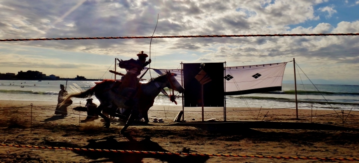 20. Zushi Yabusame beach archery horseback