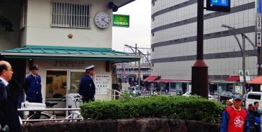 22. Ueno Koban police