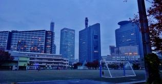 23. Saitama dusk playing field