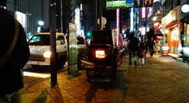 26. Ikebukuro fire cart night