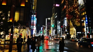 29. Ginza at night