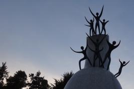 4. Taro Okamoto sculpture