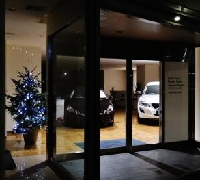Minato Chuo Volvo christmas tree