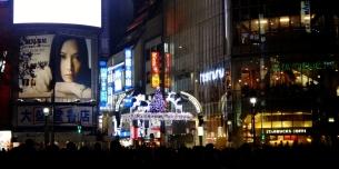 Shibuya Reindeer lights