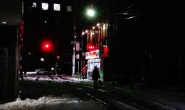 3 - snow tokyo night street