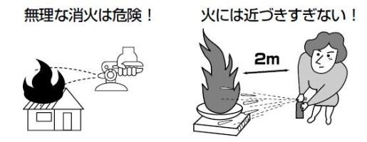Cute Fire Extinguisher using