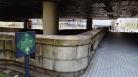 Kamakurabashi Bridge Tokyo WW2 damage