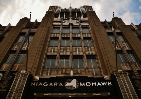 Niagara Mohawk Building front up