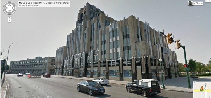 Niagara Mohawk Building google map